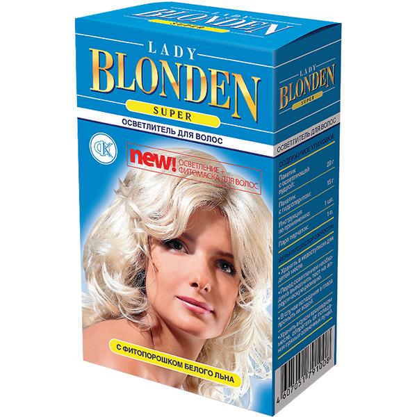 Осветлитель для волос фитокосметик lady blonden super фото