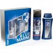 Наб.BLUE MARINE For Men *Шампунь + Пена д/бритья* - marislav.ru - Екатеринбург