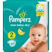 Подг.PAMPERS New Baby/2/ Mini 4-8 кг /27/ - Бытовая химия, хозтовары оптом от компании Марислав, Екатеринбург