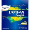 TAMPAX Compak Regular /8/ - Бытовая химия, хозтовары оптом от компании Марислав, Екатеринбург