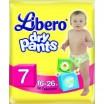 """Трусики LIBERO Dry Pants/7/ 16-26кг /14/ - купить оптом в магазине """"Мирослав"""""""