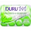 Мыло DURU/4*90/ 1+1 Экстракты Зеленого чая - marislav.ru - Екатеринбург