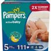 Подг.PAMPERS Active Baby/5/ Junior 11-18 кг /111/ - marislav.ru - Екатеринбург