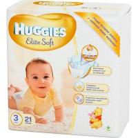 """Подг.HUGGIES Elite Soft/3/ Midi 5-9 /21/ - купить оптом в магазине """"Мирослав"""""""