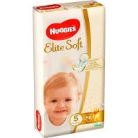 """Подг.HUGGIES Elite Soft/5/ Junior 12-22 /56/ - купить оптом в магазине """"Мирослав"""""""