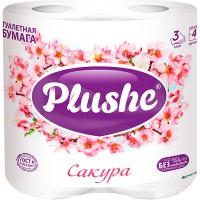 Т/бум.PLUSHE Deluxe Light/4шт./3-х сл./ Сакура - marislav.ru - Екатеринбург
