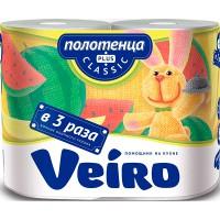 """Полот.бум.VEIRO /2шт/ 2сл./ Classic Plus - купить оптом в магазине """"Мирослав"""""""