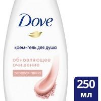 Гель д/душа DOVE/250/ Розовая глина - marislav.ru - Екатеринбург