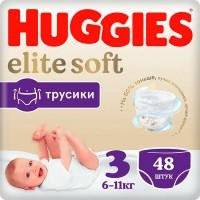 Трусики HUGGIES Elite Soft/3/ 6-11 кг /54/ - marislav.ru - Екатеринбург