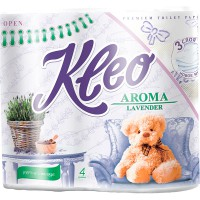 Т/бум.KLEO Aroma/4шт./3-х сл./ Lavender - marislav.ru - Екатеринбург