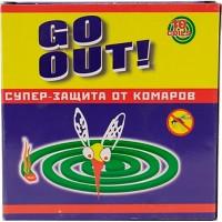 Спирали GO OUT!/10/ От комаров - marislav.ru - Екатеринбург