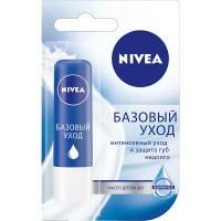 Бальзам д/губ NIVEA/4,8/ Базовый уход - marislav.ru - Екатеринбург