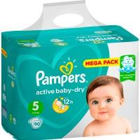 Подг.PAMPERS Active Baby/5/ Junior 11-18 кг /126/ - Бытовая химия, хозтовары оптом от компании Марислав, Екатеринбург