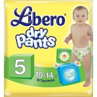 Трусики LIBERO Dry Pants/5/ 10-14кг /18/ - marislav.ru - Екатеринбург