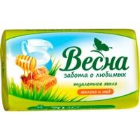 Мыло ВЕСНА/90/ Молоко и мед - marislav.ru - Екатеринбург