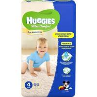 """Подг.HUGGIES Ultra Comfort/4/ Для мальчиков 8-14 /66/ - купить оптом в магазине """"Мирослав"""""""