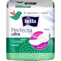 BELLA Perfecta Ultra maxi Green /8/ - Бытовая химия, хозтовары оптом от компании Марислав, Екатеринбург