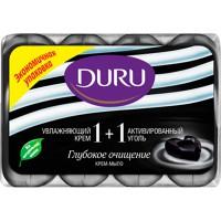 Мыло DURU/4*90/ 1+1 Активированный Уголь - Бытовая химия, хозтовары оптом от компании Марислав, Екатеринбург