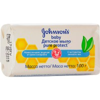 Мыло JOHNSON'S BABY/100/ Pure Protect - Бытовая химия, хозтовары оптом от компании Марислав, Екатеринбург