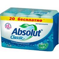 Мыло ABSOLUT/4*75/ Classic Ультразащита - Бытовая химия, хозтовары оптом от компании Марислав, Екатеринбург