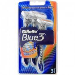 Станок однор.GILLETTE /3/ Blue-3 - Бытовая химия, хозтовары оптом от компании Марислав, Екатеринбург