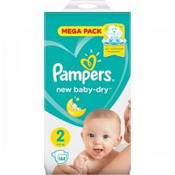 Подг.PAMPERS New Baby/2/ Mini 3-6 кг /144/ - Бытовая химия, хозтовары оптом от компании Марислав, Екатеринбург