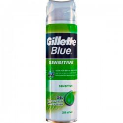"""Гель д/бритья GILLETTE/200/ Blue Sensitive - купить оптом в магазине """"Мирослав"""""""