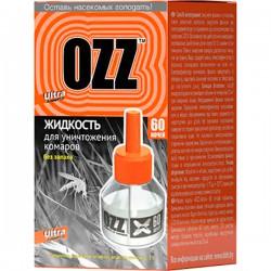 """Жидкость OZZ/60/ От комаров без запаха - купить оптом в магазине """"Мирослав"""""""