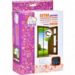 Сетка-штора HELP/2пол. 45*210/ На дверь с магнит. и кре - marislav.ru - Екатеринбург