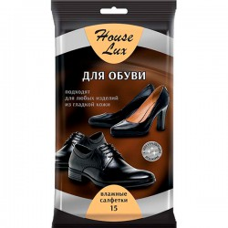 Салф.влаж.HOUSE LUX/15/ Для обуви из гладкой кожи - marislav.ru - Екатеринбург