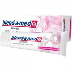 З/п BLEND-A-MED/75/ 3D White Отбеливание для чувст. зуб - Бытовая химия, хозтовары оптом от компании Марислав, Екатеринбург