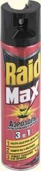 Аэрозоль RAID Max/300/ 3в1 От Тараканов и Муравьев - Бытовая химия, хозтовары оптом от компании Марислав, Екатеринбург