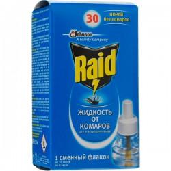 """Жидкость RAID/30/ Для фумигаторов от комаров - купить оптом в магазине """"Мирослав"""""""