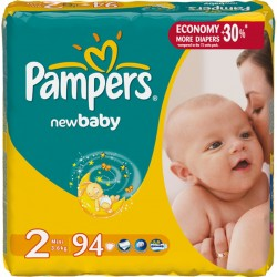 Подг.PAMPERS New Baby/2/ Mini 3-6 кг /94/ - Бытовая химия, хозтовары оптом от компании Марислав, Екатеринбург