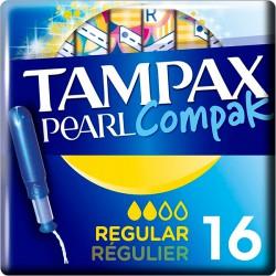 TAMPAX Pearl Regular /18/ - Бытовая химия, хозтовары оптом от компании Марислав, Екатеринбург