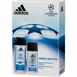 Наб.ADIDAS UEFA Arena Edition С парфюм. водой 75мл - Бытовая химия, хозтовары оптом от компании Марислав, Екатеринбург