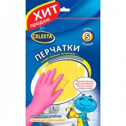 Перч.резин.CELESTA /L/ С хлопковым напылением - marislav.ru - Екатеринбург