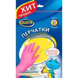Перч.резин.CELESTA /M/ С хлопковым напылением - marislav.ru - Екатеринбург