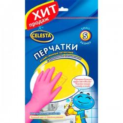 Перч.резин.CELESTA /S/ С хлопковым напылением - marislav.ru - Екатеринбург