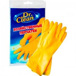 Перч.резин.DR.CLEAN /XL/ Оранжевые - Бытовая химия, хозтовары оптом от компании Марислав, Екатеринбург