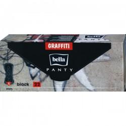 BELLA Panty Graffiti /22/ Black - Бытовая химия, хозтовары оптом от компании Марислав, Екатеринбург