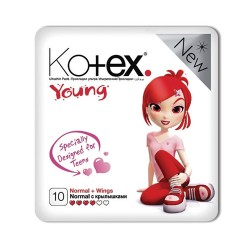 KOTEX Young/10/ Normal - Бытовая химия, хозтовары оптом от компании Марислав, Екатеринбург