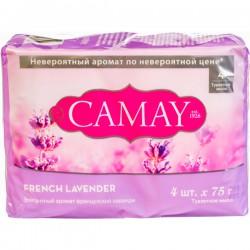 Мыло CAMAY/4*75/ French Lavender - Бытовая химия, хозтовары оптом от компании Марислав, Екатеринбург
