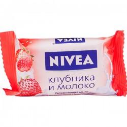Мыло NIVEA/90/ Клубника и молоко - marislav.ru - Екатеринбург