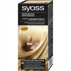 Краска SYOSS =9-1= Очень светлый блонд - Бытовая химия, хозтовары оптом от компании Марислав, Екатеринбург