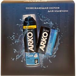 """Наб.ARKO Men Cool *Пена д/бритья + Мыло/90/* - купить оптом в магазине """"Мирослав"""""""
