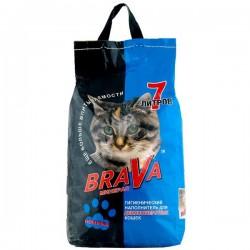 Наполнитель BRAVA/7л/ Для длинношерстных кошек - marislav.ru - Екатеринбург