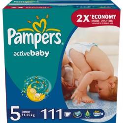 Подг.PAMPERS Active Baby/5/ Junior 11-18 кг /111/ - Бытовая химия, хозтовары оптом от компании Марислав, Екатеринбург