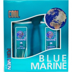 Наб.BLUE MARINE For Men Cool*Гель д/душа+Шампунь* - Бытовая химия, хозтовары оптом от компании Марислав, Екатеринбург